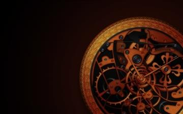 Mechanical wheels Mac wallpaper