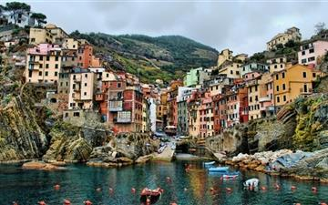 Riomaggiore Italy MacBook Pro wallpaper