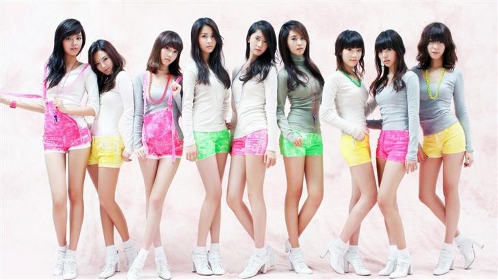 Girls Generation 6 Mac Wallpaper