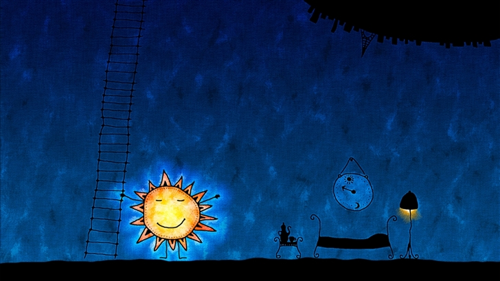 Working sun Mac Wallpaper