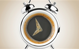 Coffee or clock