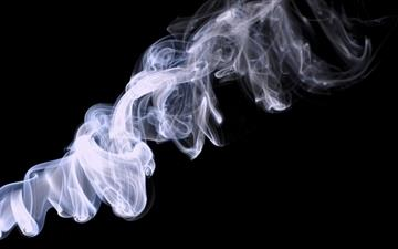 Wood smoke Mac wallpaper