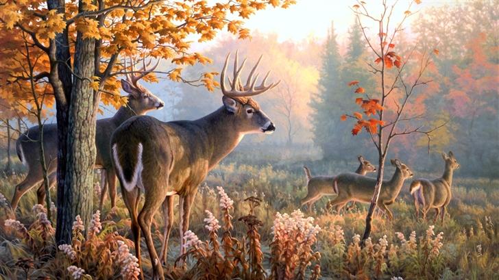 An Autumn's Tale Mac Wallpaper