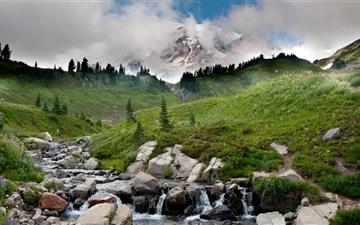 Valleys and streams Mac wallpaper
