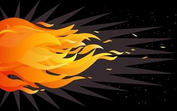 Fire Mac wallpaper