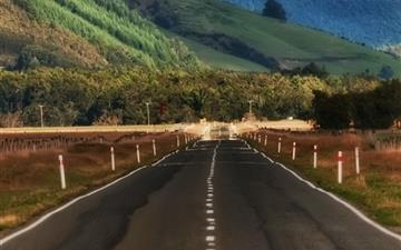 Road In New Zealand All Mac wallpaper