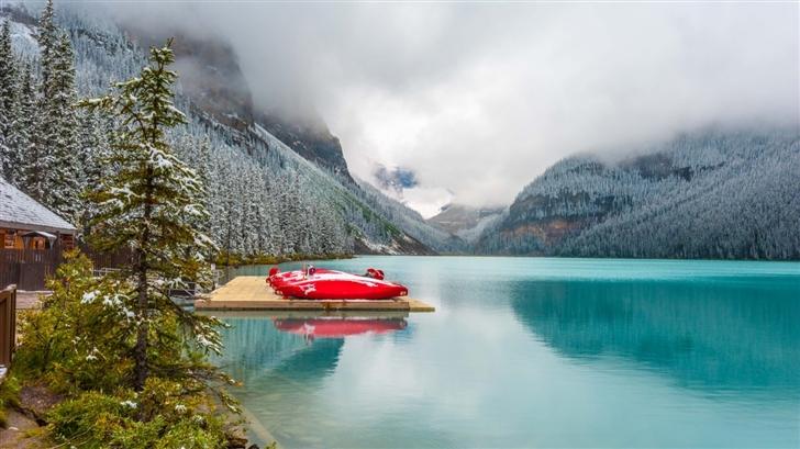 Lake Louise Mac Wallpaper