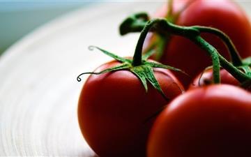 The tomato Mac wallpaper