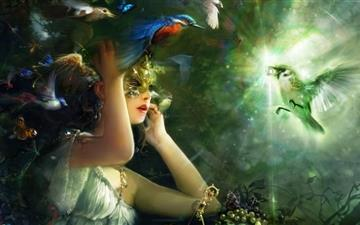 Harpy Princess All Mac wallpaper
