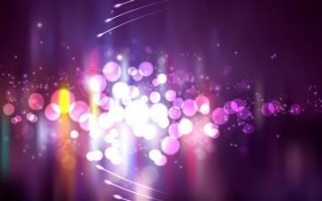 Purple Lights Mac wallpaper