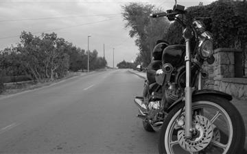 A motorcycle Mac wallpaper