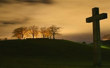 Christian cross Mac wallpaper