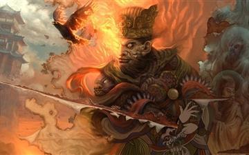 The Battle for God Mac wallpaper