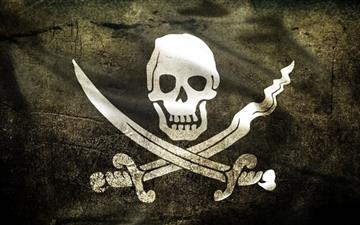 Pirate Flag Mac wallpaper