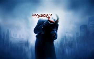 Why so serious? Mac wallpaper