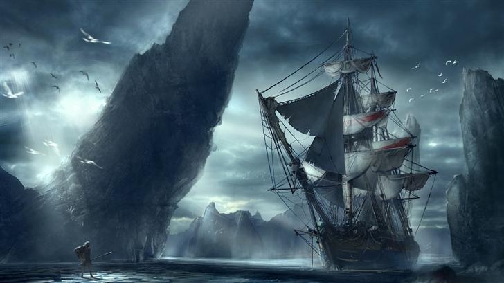 Ghost Ship Mac Wallpaper