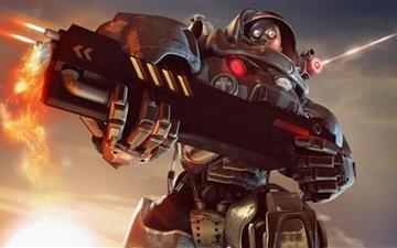Future Combat Mac wallpaper