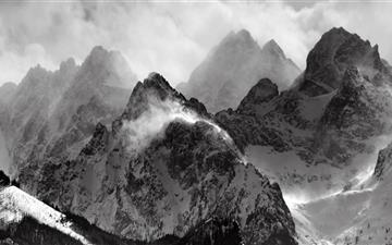 Snow mountain Mac wallpaper
