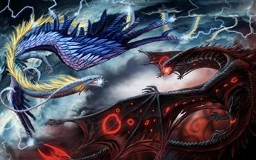 Dragon Wars Mac wallpaper