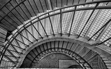 Spiral stairs Mac wallpaper