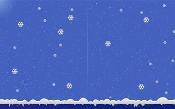 Snow Flower Mac wallpaper