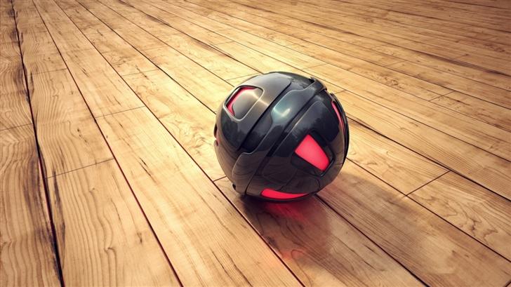 3D Sphere Mac Wallpaper