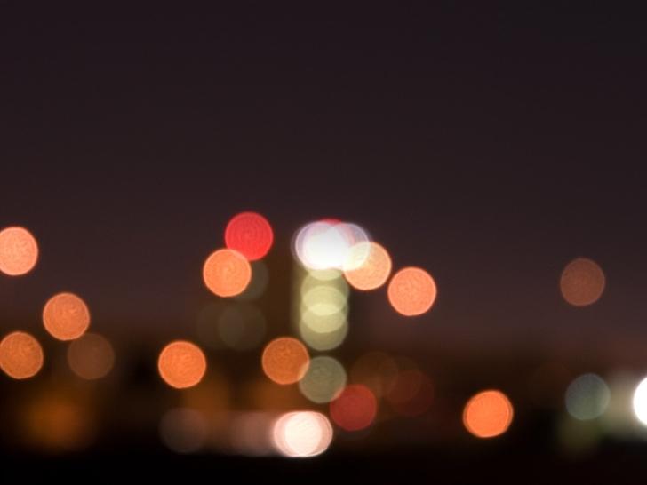 Bokeh Lights Mac Wallpaper