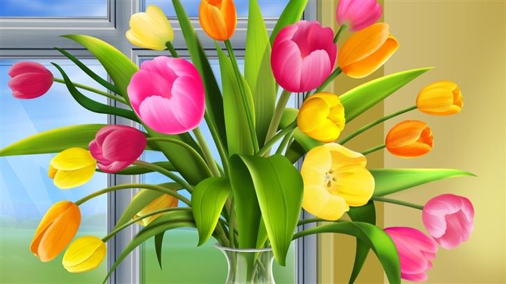 Tulip Festival  Mac Wallpaper