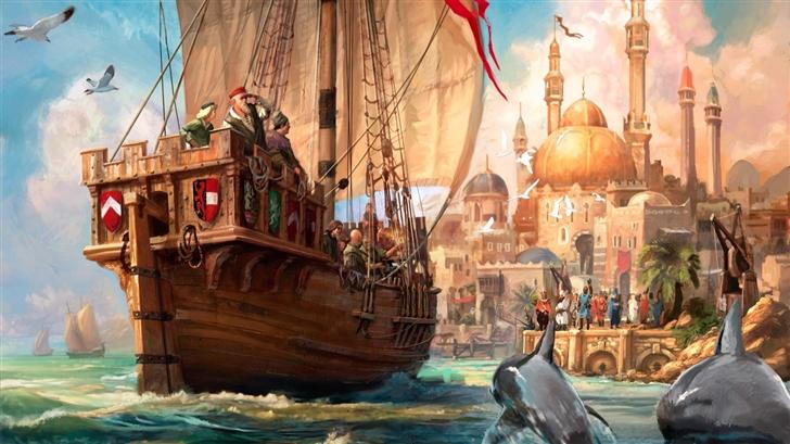 The Royal Harbour  Mac Wallpaper