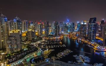 Dubai city Mac wallpaper
