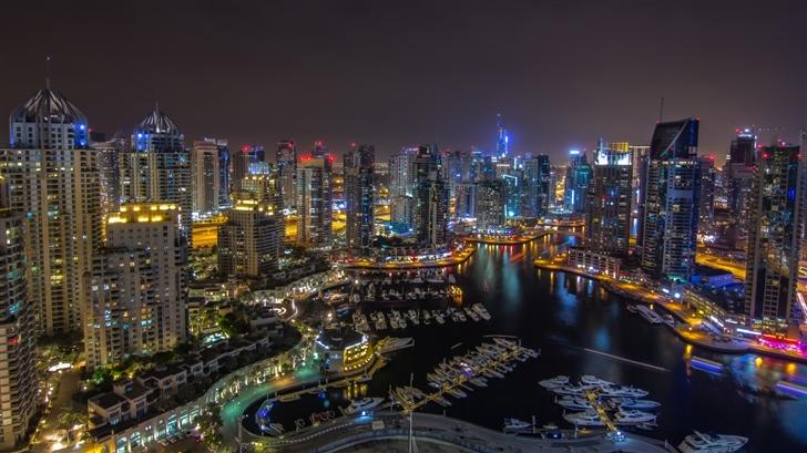 Dubai city Mac Wallpaper