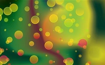 Colorful Circles 2 Mac wallpaper