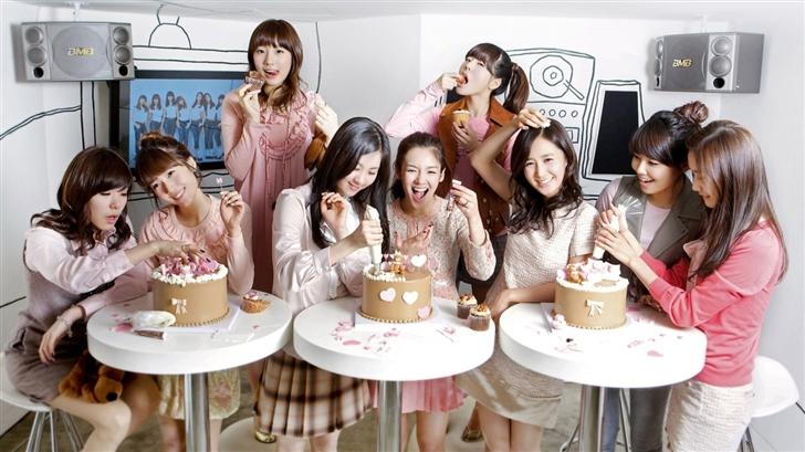 Girls Generation 8 Mac Wallpaper