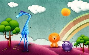 Madagascar movie Mac wallpaper