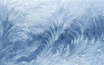Frost on Window Mac wallpaper