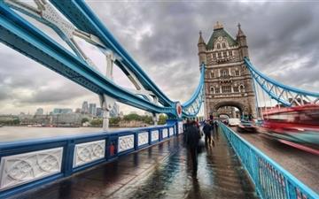 London Tower Bridge Mac wallpaper