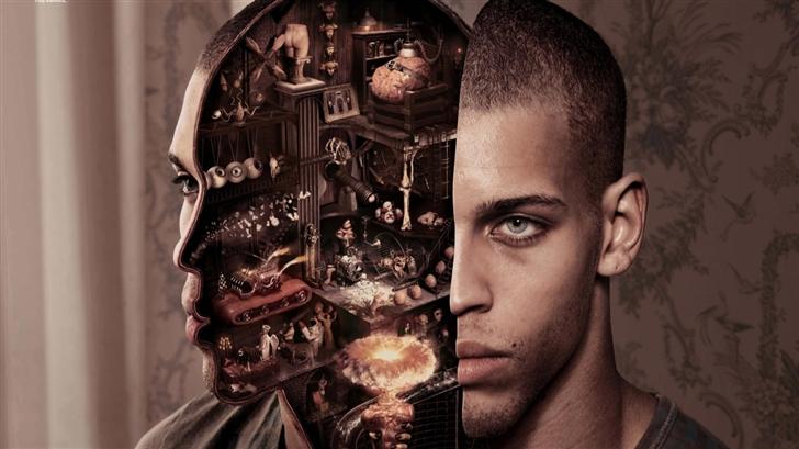 Mechanical brain Mac Wallpaper