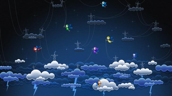 Genius in air Mac Wallpaper