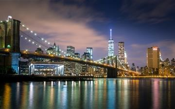 City's night Mac wallpaper