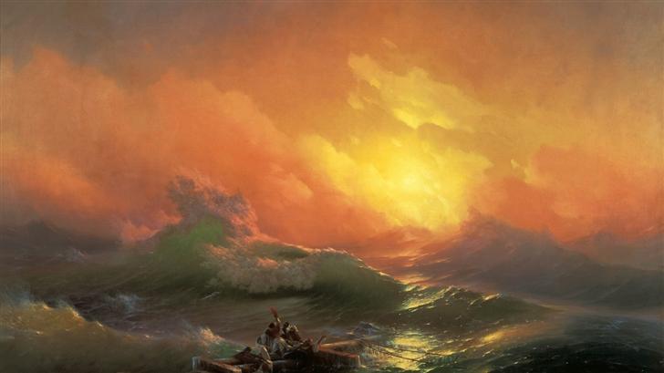 Escape the Pirate Ship Mac Wallpaper