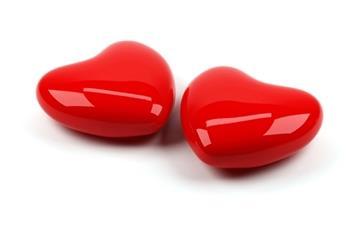 Red heart Mac wallpaper