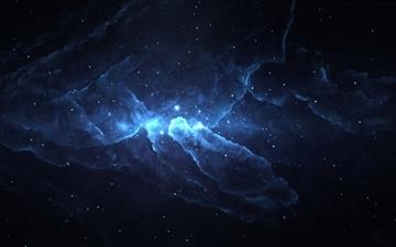 Atlantis Nebula MacBook Air wallpaper