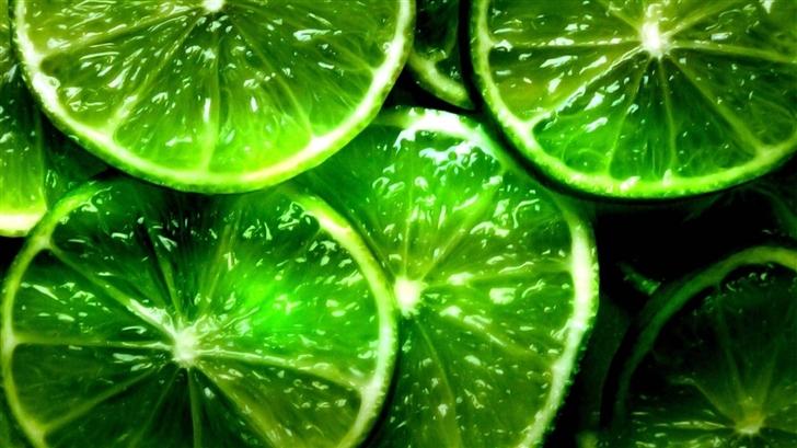 Green Lemon Mac Wallpaper