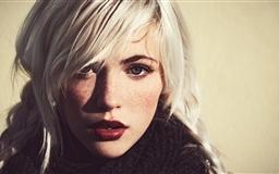 Girl White Hair