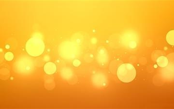 Golden Bokeh Mac wallpaper