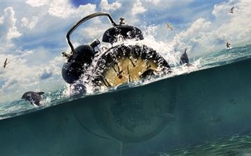 Lost In Ocean Mac wallpaper