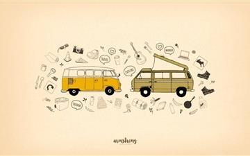 Van Life Mac wallpaper