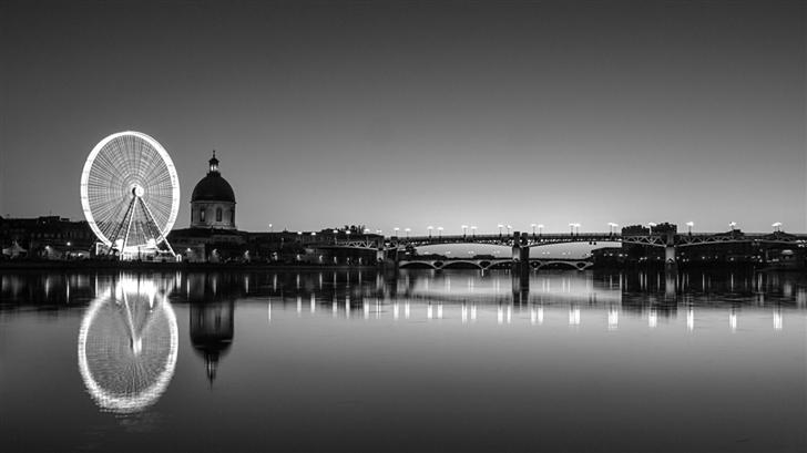 Toulouse Black And White Mac Wallpaper