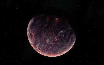Volcanic Planet Mac wallpaper