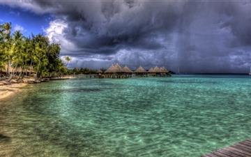 Water Bungalows All Mac wallpaper
